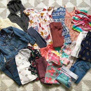 Girls 5t Clothing Lot Great Brands! 25 Pieces